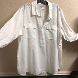 OLD NAVY OVERSIZED TUNIC SIZE XXL Cotton/Linen